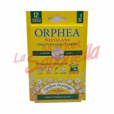 Folii Orphea pentru sertare si dulapuri-parfum de flori 12 buc